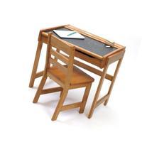 Lipper International 554P Child's Chalkboard Desk and Chair