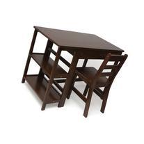 Lipper International 584WN Child's Workstation/Desk, Walnut