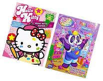 Lisa Frank and Hello Kitty Paint with Water Books, 16 Tear