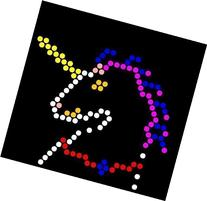 Lite Brite Refill: Little Miss