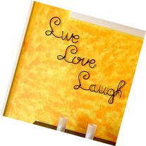 Live Love Laugh Set 3 Wall Mount Metal Wall Word Sculpture,