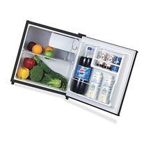 Lorell LLR72311 Compact Refrigerator, Wire Shelf, Dial