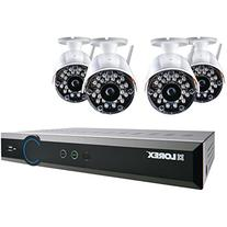 Lorex - 8-channel, 4-camera Indoor/outdoor Wireless Dvr