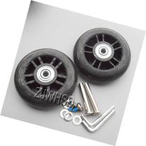 Luggage Suitcase Replacement Wheels OD 80mm  ID 6mm  W 22mm