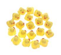 MYLIFEUNIT Mini Yellow Rubber Bath Ducks for Child 20pcs/set
