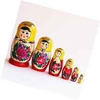 Made in Russia Semenov Wooden Russian Nesting Dolls