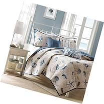 Madison Park Bayside Full/Queen Size Quilt Bedding Set -