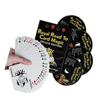 Magic DVD Set - Royal Road to Card Magic Deluxe - Complete