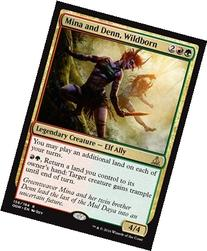 Magic: the Gathering - Mina and Denn, Wildborn  - Oath of
