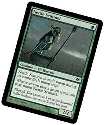 Magic: the Gathering - Nettle Sentinel - Eventide