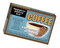 Magnetic Poetry - Coffee Kit - Words for Refrigerator -
