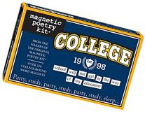 Magnetic Poetry - College Kit - Words for Refrigerator -