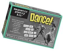 Magnetic Poetry - Dance! Kit - Words for Refrigerator -