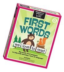 Magnetic Poetry - Kids First Words Kit - Ages 4 and Up -