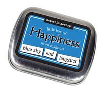 Magnetic Poetry - Little Box of Happiness Kit - Words for