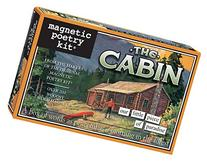 Magnetic Poetry - The Cabin Kit - Words for Refrigerator -