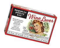 Magnetic Poetry - Wine Lover Kit - Words for Refrigerator -