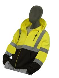 Majestic Glove 75-5325 High Visibility Sweatshirt with