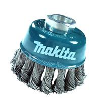 Makita 1 Piece - 3 Inch Knotted Wire Cup Brush For Grinders
