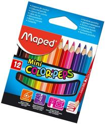 Maped Twelve Mini Colouring Pencils  832500