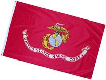 Anley Fly Breeze 3x5 Foot US Marines Corps Flag - Vivid