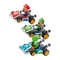Mario Kart 7 Pull & Speed Pull Back Racer 3-Pack Mario,