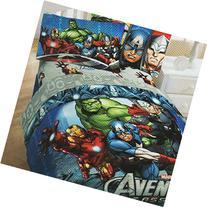 4pc Marvel Comics Avengers Twin Bedding Set Superhero Halo