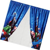 Marvel Avengers Assemble Window Panels Curtains Drapes, Set