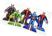 Marvel Avengers Glider Set of 5 includes Hulk, Spider-man,