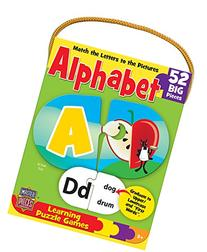 MasterPieces / Mini Learning Games Alphabet 52-Piece