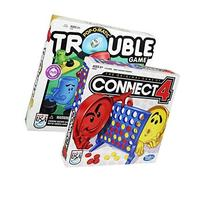 : Hasbro Classic Board Game 2-Pack - Connect 4 Game with