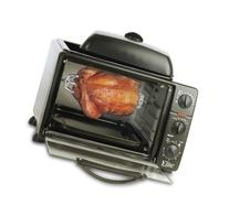 Elite Cuisine ERO-2008S Countertop Toaster Oven with Top