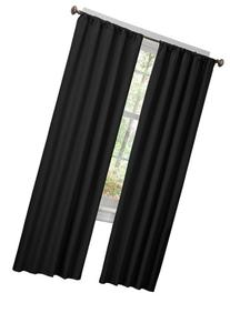 Maytex Micro Fiber Window 2-Pack Panels, 40 Inch X 84 Inch,