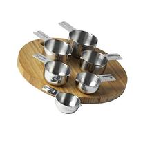 KitchenMade Measuring Cups Stainless Steel 6 Piece Stackable