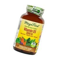 MegaFood - Vitamin D3 2000 IU, Support for Immune Health,