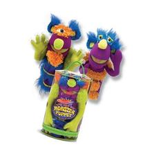 Melissa & Doug Make-Your-Own Fuzzy Monster Puppet Kit With