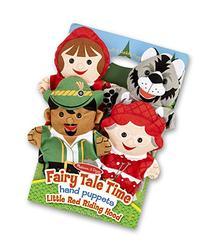 Melissa & Doug Fairy Tale Friends Hand Puppets  - Little Red