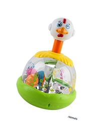 Memtes® Push and Spin Carousel Chicken Toy