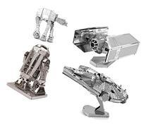 Metal Earth 3D Model Kits - Star Wars Set of 4 - Darth Vader