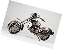 Metal sculpture - Retro Classic Handmade Iron Motorcycle