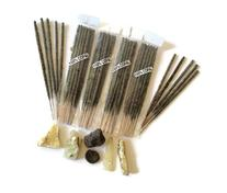 Mexican Copal Incense, 4 Bags with 10 Sticks Each. Handmade