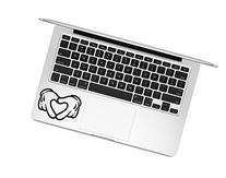 Mickey Hands Love - Sticker Decal Apple Macbook Pro Air