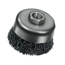 Milwaukee 48-52-5060 3-Inch Crimped Wire Cup Brush