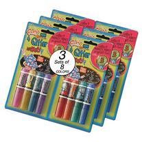 Mini Glitter Markers Washable - Bulk - Discount Wholesale