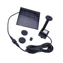 Mini Kitty Water Pump Solar Power Panel Kit Fountain Pool