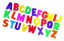 Miniland Magnetic Capital Letters /Jar