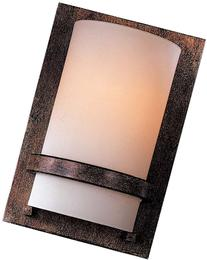 Minka Lavery 342-357, 1 Light Wall Sconce, Iron Oxide