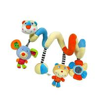 MochoHome Activity Spiral Stroller Toy with Jingle Bell and