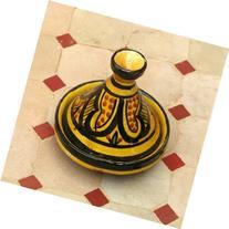 Moroccan Handmade Safi Yellow Spicer