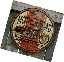 Mother Road Motorcycle Repair Tin Sign 12 x 12in